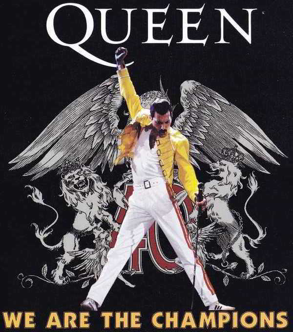 Photo of Queen – We are the champions – Мы чемпионы Фредди Меркури
