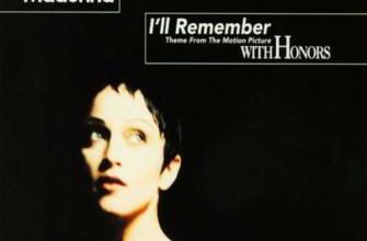 Madonna - I'll Remember (Я буду помнить - Мадонна)