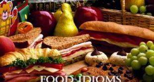 Английские идиомы про еду и продукты (Food Idioms)